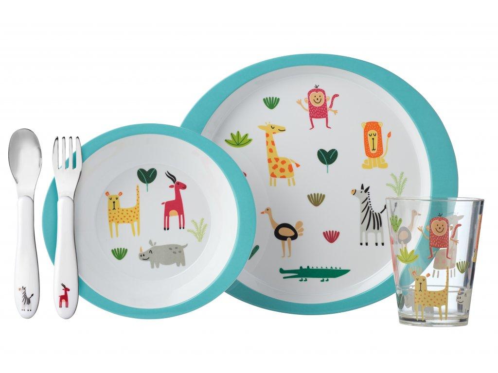Mepal dětský jídelní set Aninal Friends