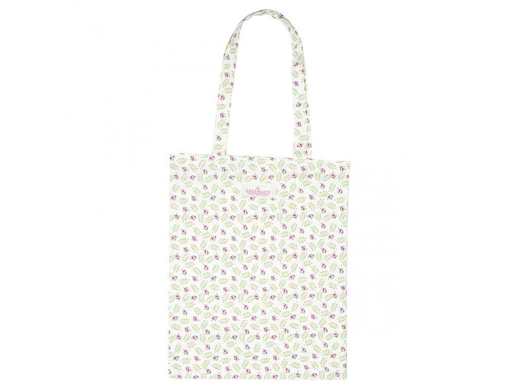 Green Gate látková nákupní taška Lily petit white 1