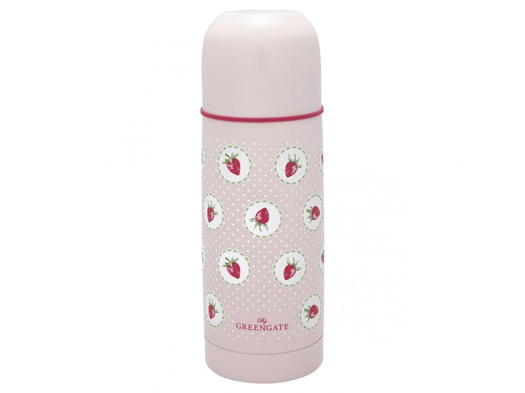 Green Gate stylová termoska Strawberry pale pink 300 ml 1
