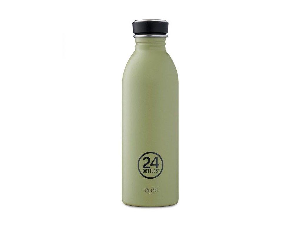 24Bottles - nerezová lahev Urban Bottle 500 ml sage 1