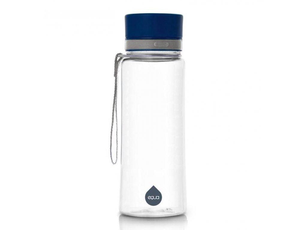 Plastová lahev na vodu Equa Plain Blue 600 ml 1