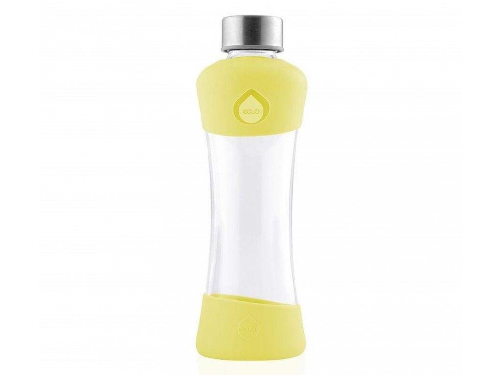Odolná skleněná lahev Aqua Active Lemon 1