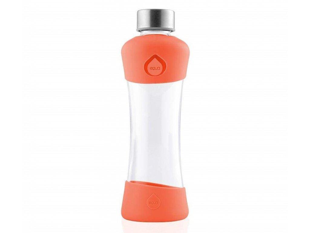 EQUA skleněná láhev na pití Active Tangerine 550 ml