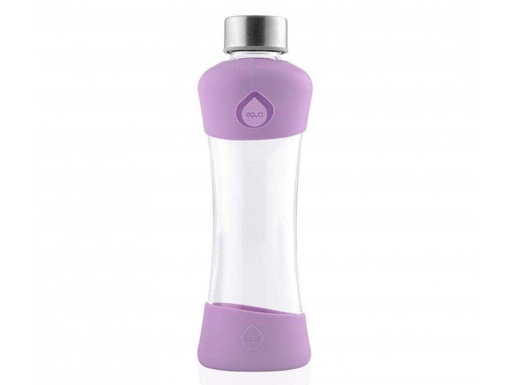 Lehká a odolná skleněná láhev na pití EQUA ACTIVE PLUM 1