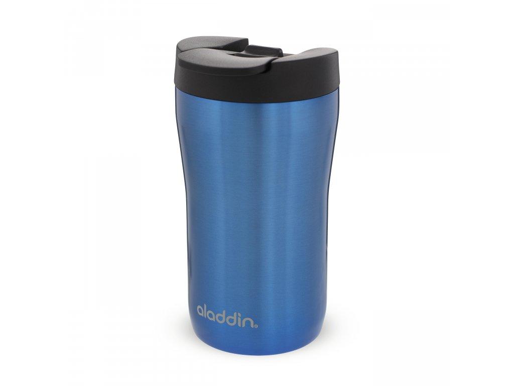 Aladdin nerezový termohrnek na kávu nebo espresso v modré barvě 1