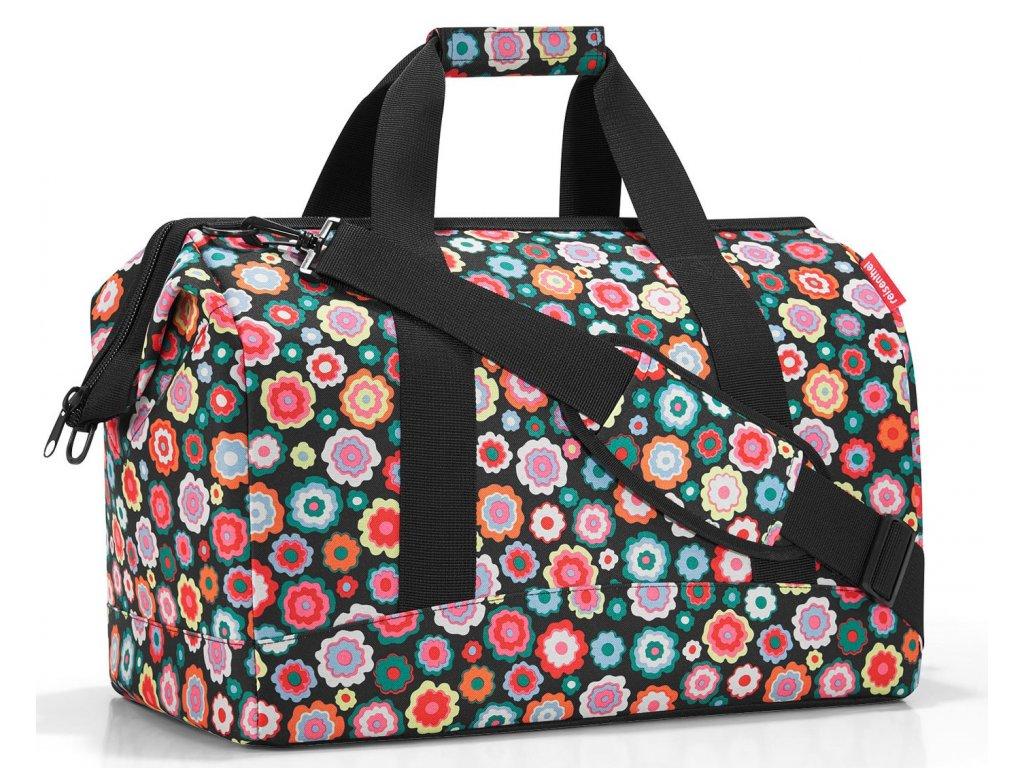 Reisenthel cestovní taška Allrounder L happy flowers 1