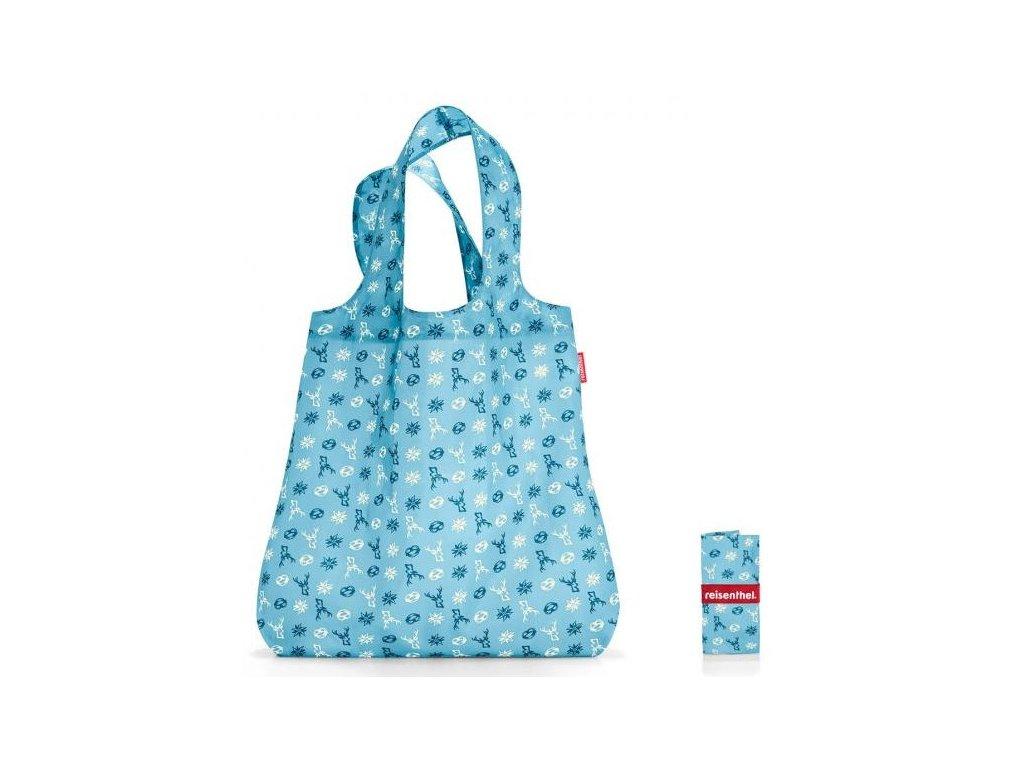 skládací nákupní taška MINI MAXI SHOPPER bavaria denim 1