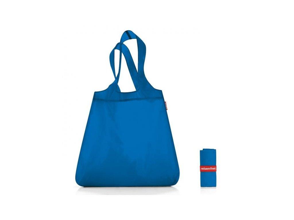 Modrá skládací nákupní taška 1