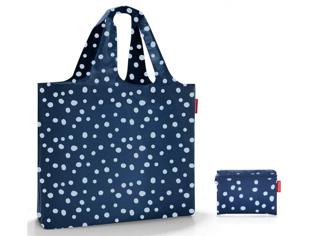 Reisenthel skládací nákupní, nebo plážová taška Beachbag spots navy 1