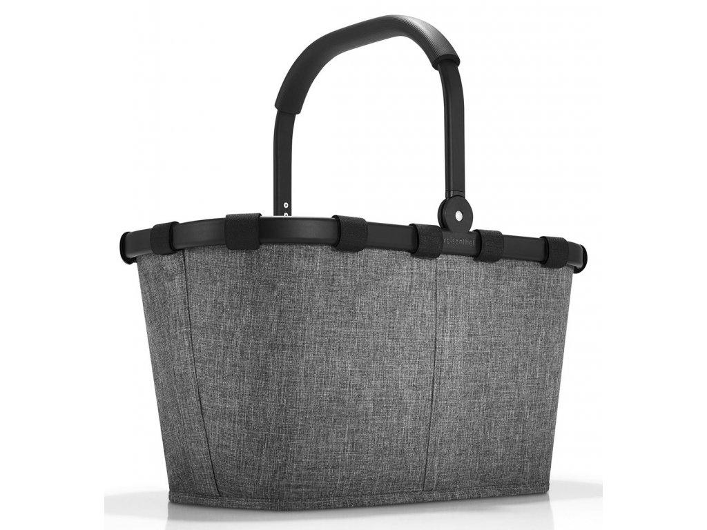 Reisenthel nákupní košík Carrybag frame twist silver 1