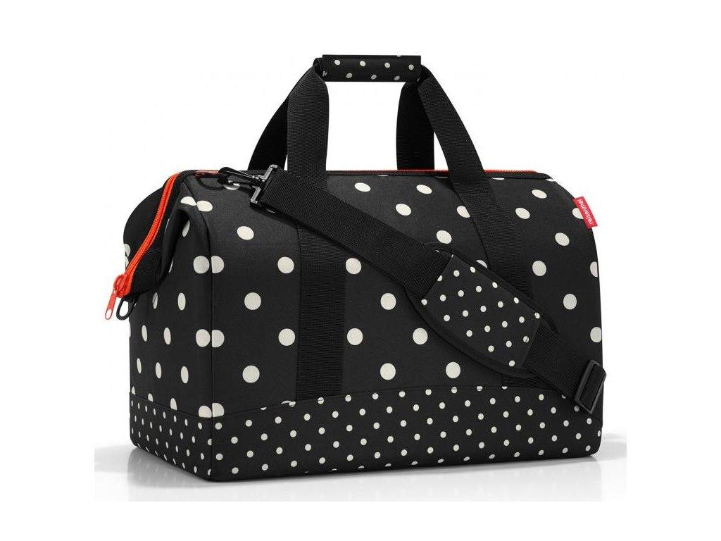 Reisenthel prostorná cestovní taška Allrounder L mixed doth 1