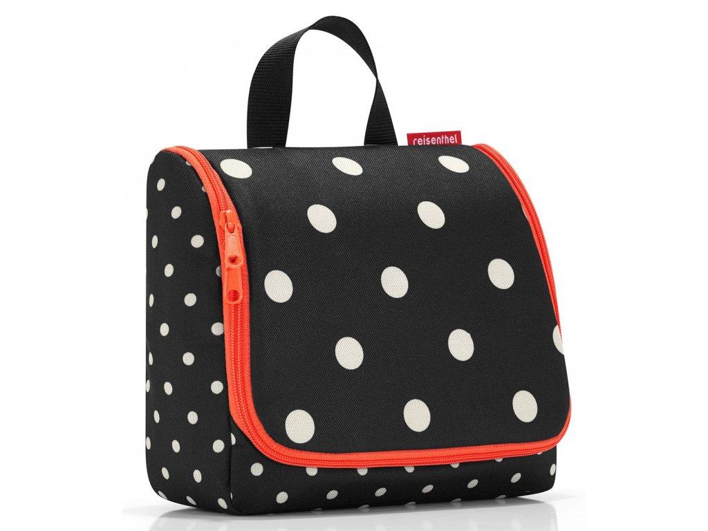 Reisenthel kosmetická taška Toiletbag mixed dots - 1