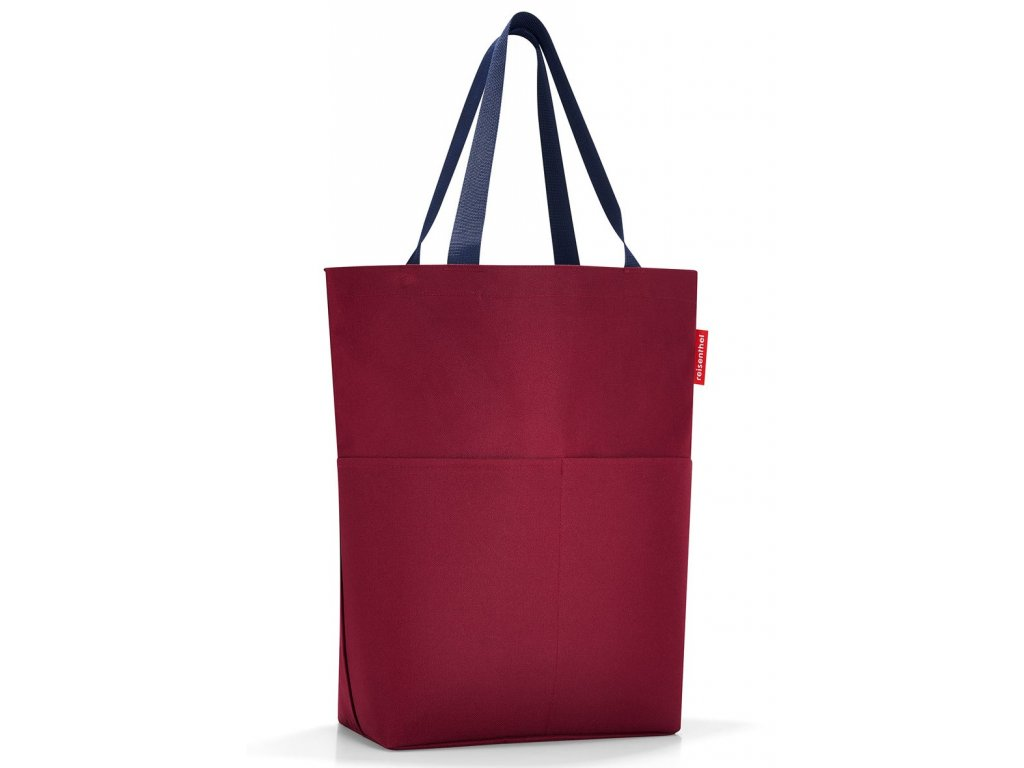 červená nákupní taška přes rameno - 1