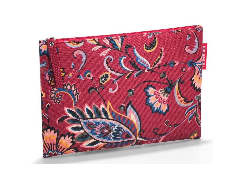 Reisenthel malá kosmetická taška Case 1 paisley ruby