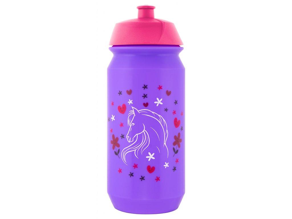 Baagl plastová láhev Koně 500 ml