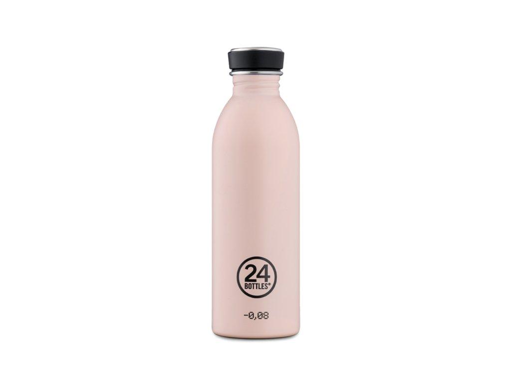 24Bottles - nerezová lahev Urban Bottle 500 ml Dusty Pink