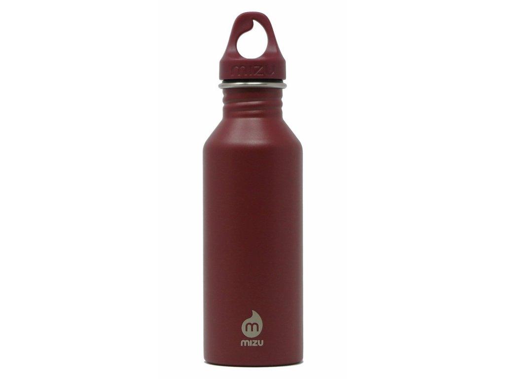 MIZU nerezová lahev M5 enduro burgundy 530 ml
