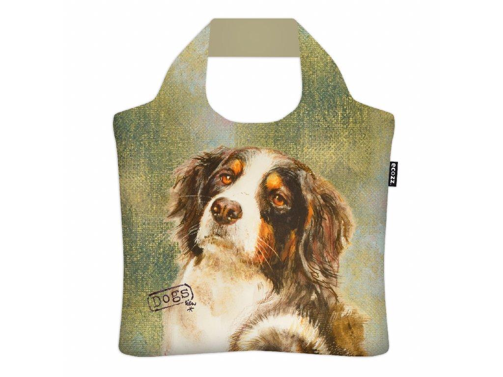 skládací nákupní taška Bernský salašnický pes