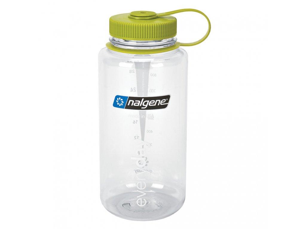 NALGENE odolná láhev na pití Wide Mouth 1000 ml Clear