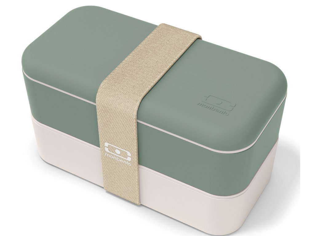 Monbento Bento box na jídlo s sebou MB Original green Natural 1