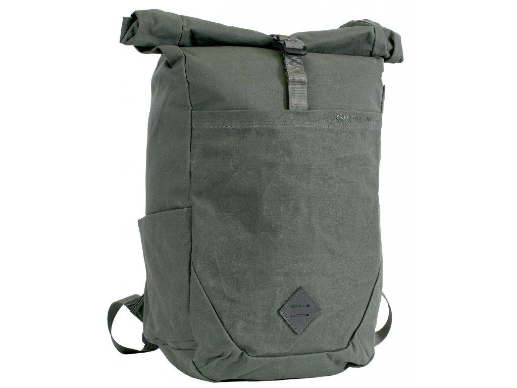 Lifeventure olivový městský batoh Kibo 25 RFiD Backpack olive 1