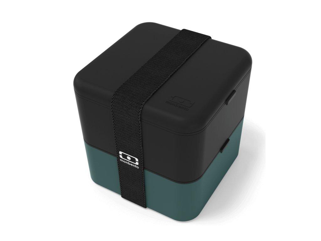 Monbento prostorný box na jídlo MB Square Wild Onyx 1