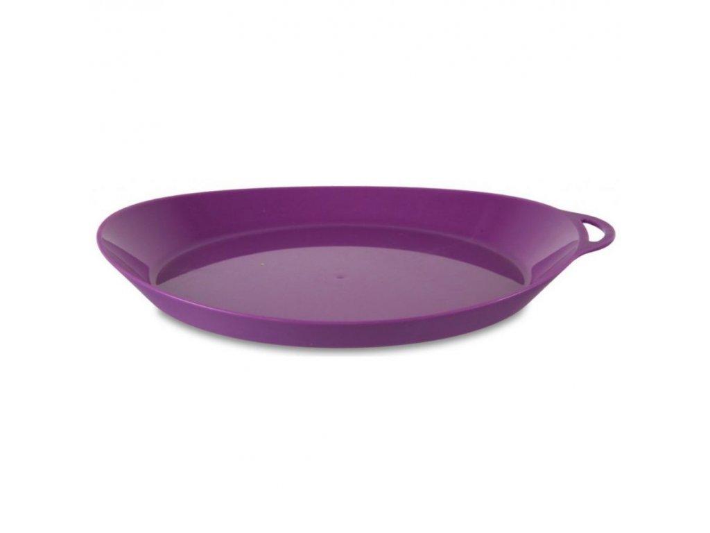 Lifeventure plastový talíř Ellipse fialový