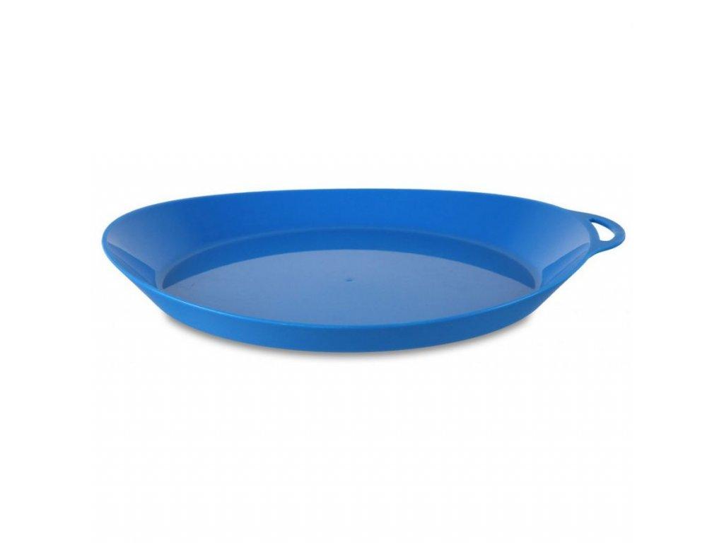 Lifeventure plastový talíř Ellipse modrý