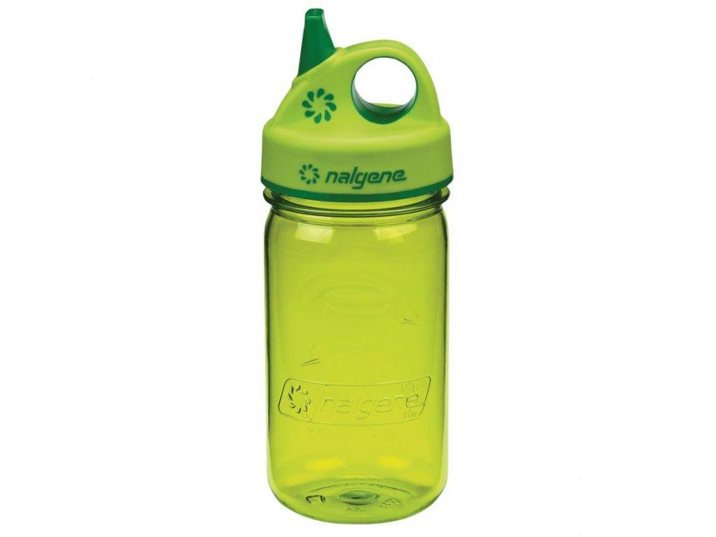 NALGENE dětská láhev Grip'n Gulp 350 ml Spring Green 1