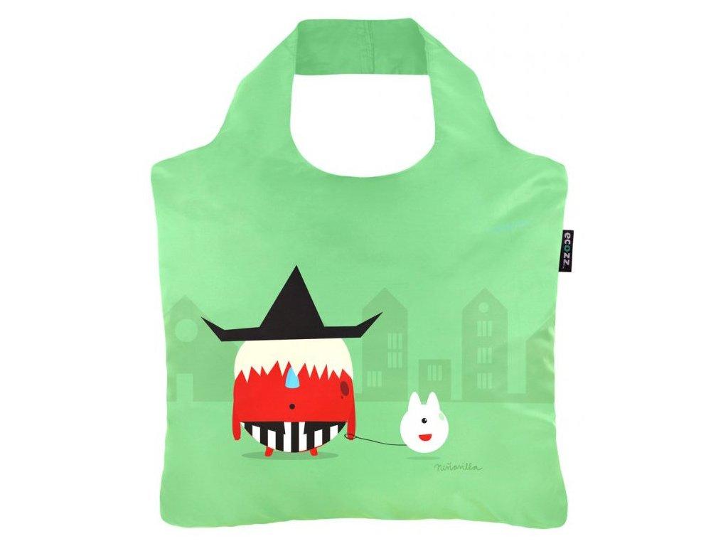ECOZZ skládací nákupní taška Poustevník