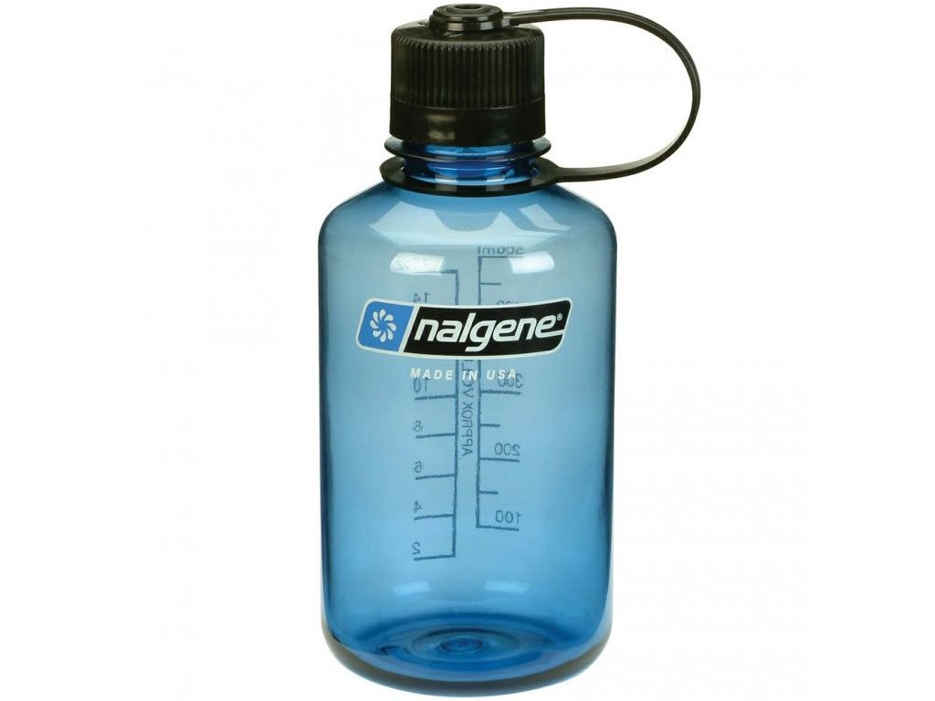 NALGENE - láhev na pití Narrow Mouth 500 ml Blue