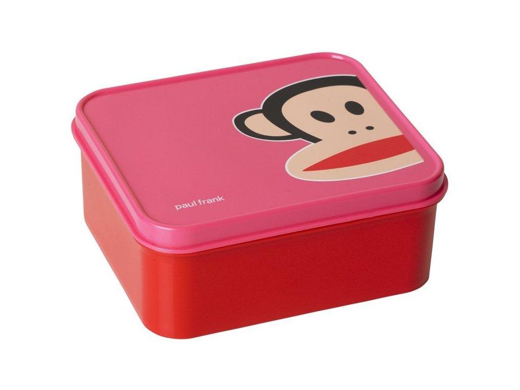 Paul Frank svačinový box tmavě růžový