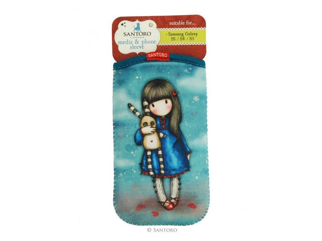 Santoro pouzdro pro Samsung S5/S4/S3 Hush Little Bunny
