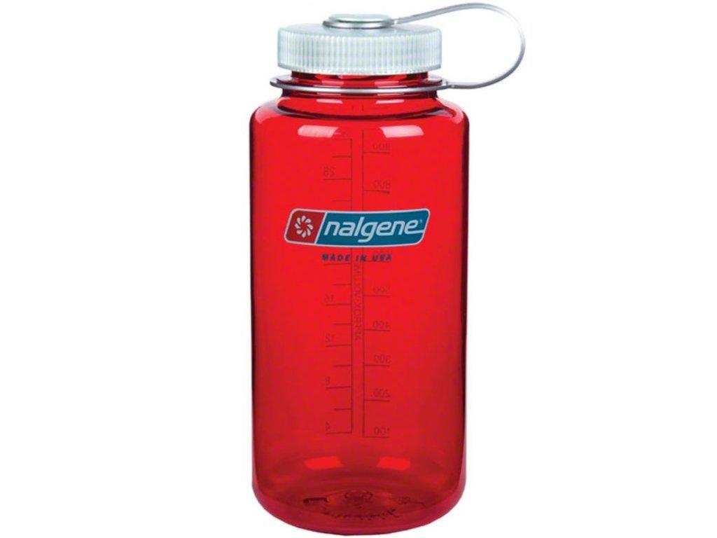 NALGENE - láhev na pití Wide Mouth 1000 ml Outdoor Red