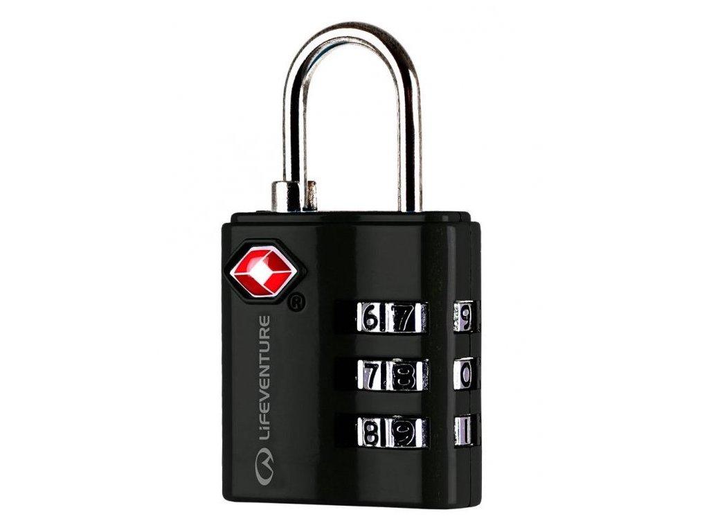 LifeVenture - zámek TSA Combination Lock black