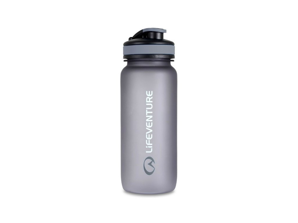 Lifeventure lahev na vodu Tritan Bottle 650ml graphite šedá