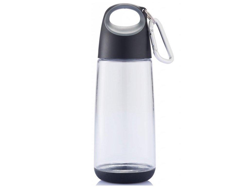 XDDESIGN - lahev BOPP MINI s karabinou 350 ml šedá