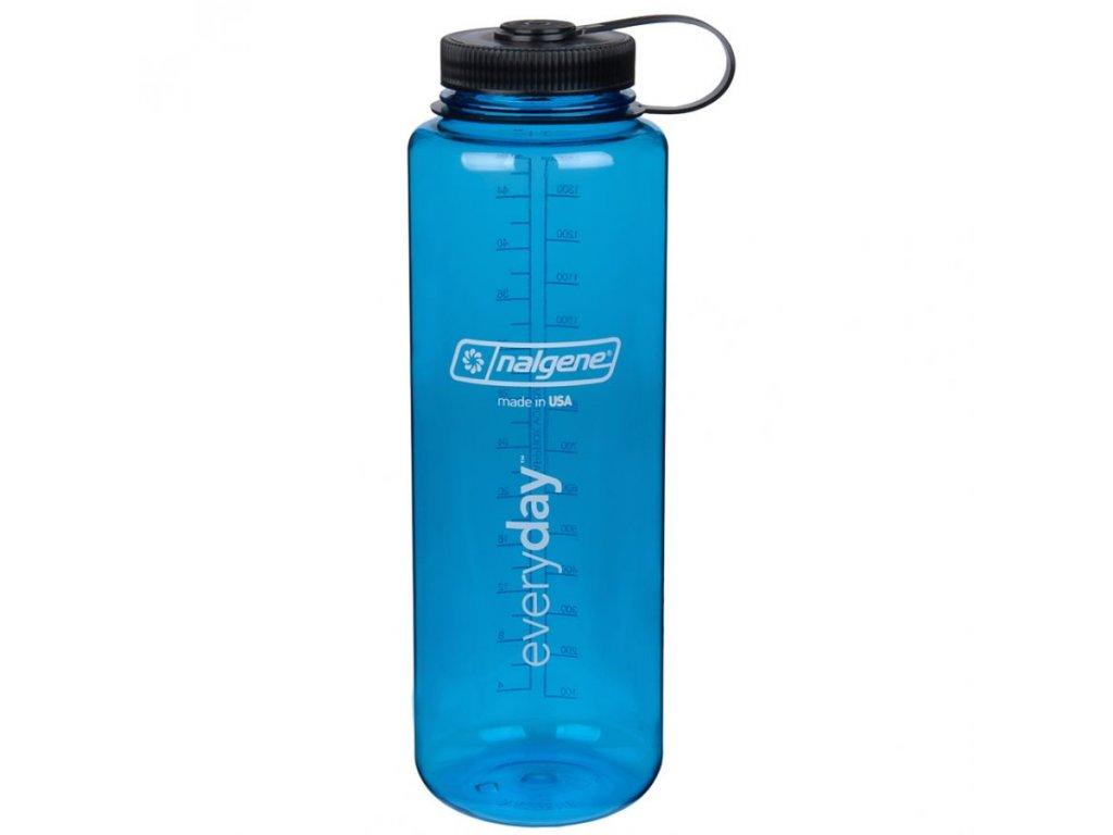NALGENE - láhev na pití Wide Mouth 1500 ml Blue