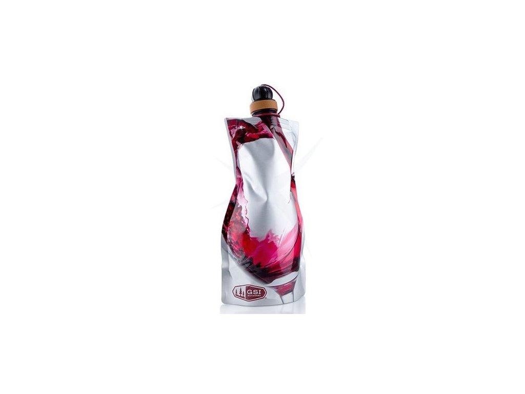 GSI outdoorová lahev na víno 750ml