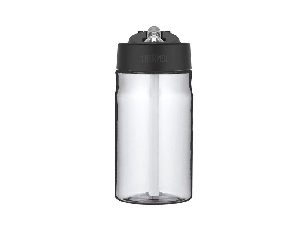 Thermos - dětská láhev s brčkem 350 ml čirá