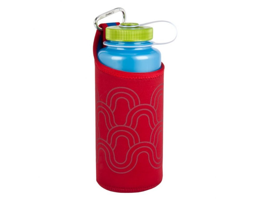 NALGENE - neoprenový obal na lahev 1000 ml Red