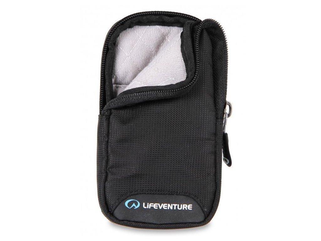 Lifeventure RFiD Phone Wallet Black - bezpečnostní kapsička na telefon černá