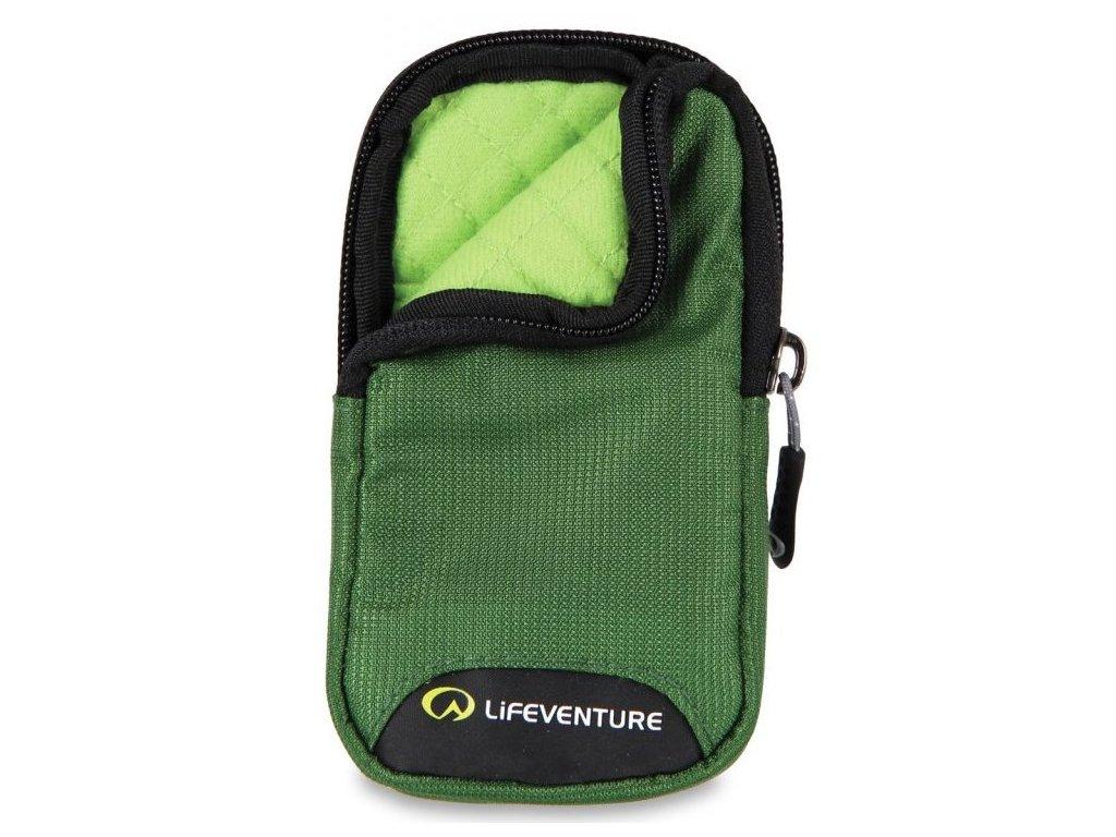 Lifeventure RFiD Phone Wallet Green - bezpečnostní kapsička na telefon zelená