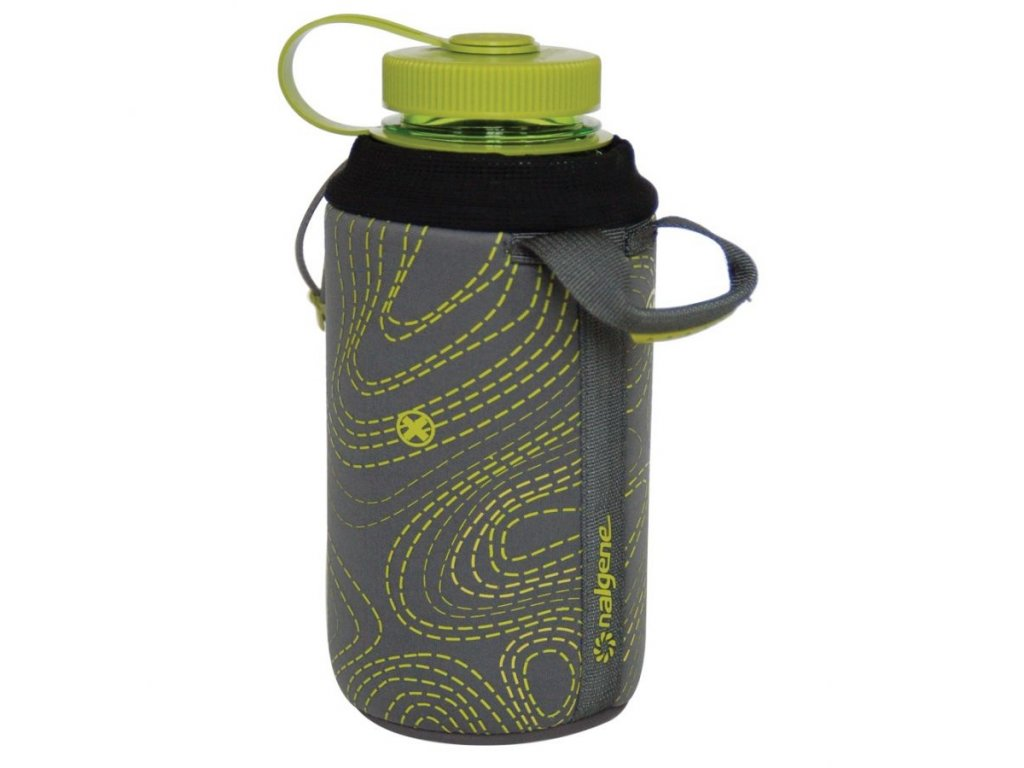 NALGENE - neoprenový obal na lahev 1000 ml grey-green