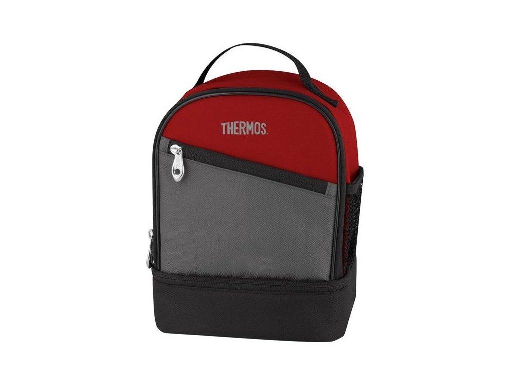 Thermos - dvoukomorová termotaška 3,9l červená