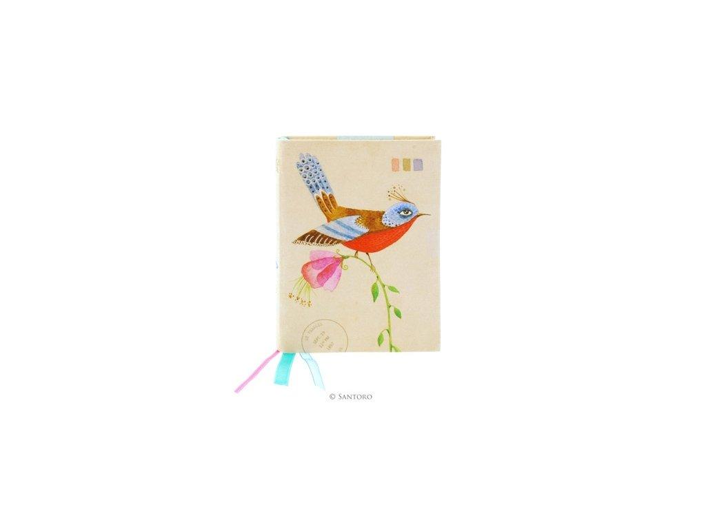 SANTORO  zápisník Summer Garden