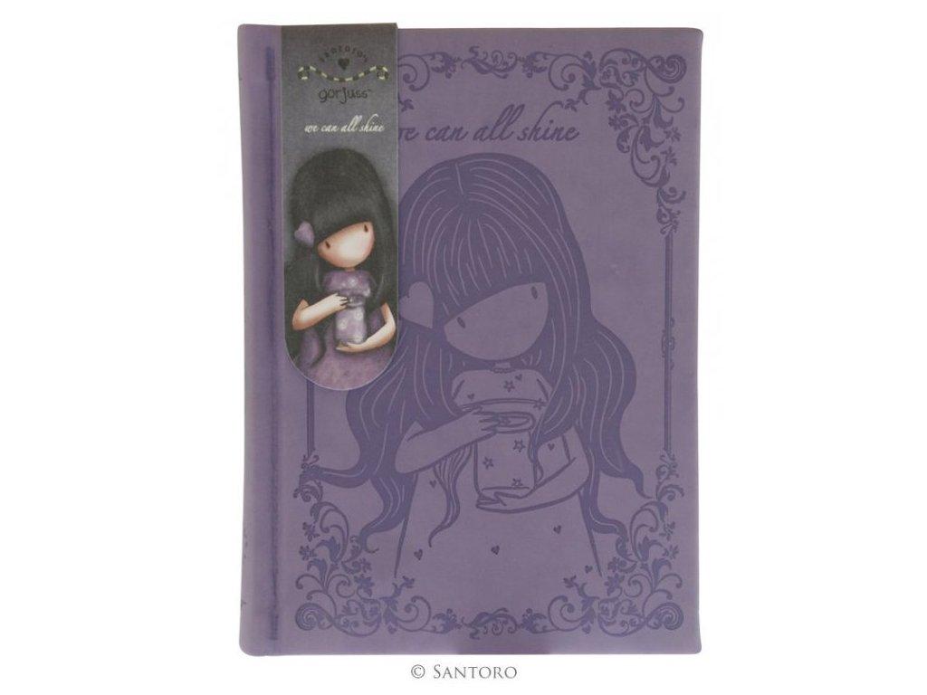 SANTORO - embosovaný zápisník We Can All Shine