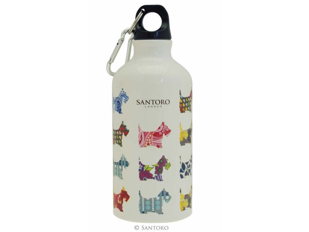 SANTORO - lahev na pití SCOTIE DOGS 500 ml