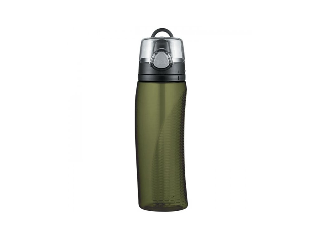 Thermos - hydratační láhev 710 ml s počítadlem olivová
