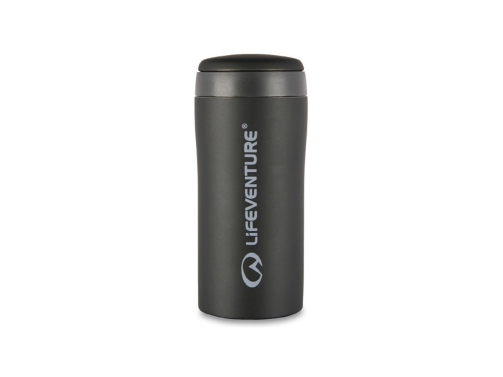 LifeVenture - termohrnek Thermal Mug černý matný